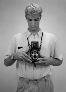 Selfportrait with YashicaMat