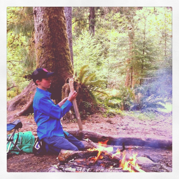 Camping Hoh River Olympic National Park Backpacking