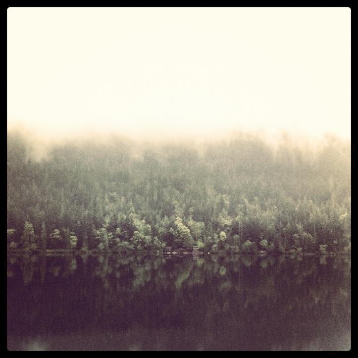 Crescent Lake near Forks Wa