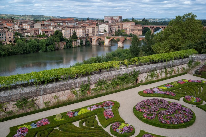 French Garden in Albi August 2018